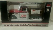 1957 1:25 SpecCast Chevy ACE HARDWARE Stakebed/ Crate Load Truck Coin Bank NIB