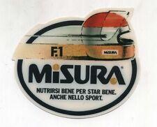 Adesivo Formula 1 MISURA sponsor Anni 80 F1 World Championship sticker 2 PROMO