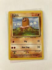 Pokemon 1999 English Diglett 47/102 Base Nintendo Wizards WotC Tcg old card �