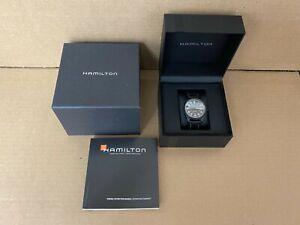 Hamilton Khaki H705751 Black Dial with Date Automatic Titanium 42mm Men's Watch