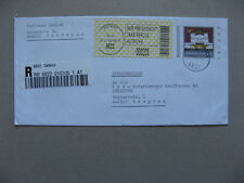 AUSTRIA, uprated prestamped R-cover 2002, with label postage paid