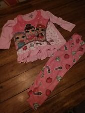 Girls Size 4 Lol Pajamas