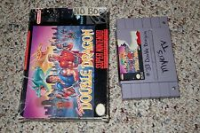 Super Double Dragon (Super Nintendo Entertainment System SNES) w/ Box FAIR A B
