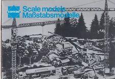 CONRAD 1:50 CONSTRUCTION VEHICLES TRUCKS VANS & BUSES MID '80s MODEL RANGE BOOK