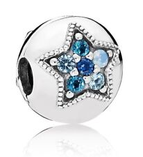 Authentic Pandora Stopper Bright Star Clip Charm 796380NSBMX