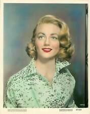 Vintage 1957 Dorothy Malone American Actress Photo Tint MGM Promo Photo 57/421