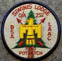 1970 OA Lodge 252 Siwinis Potlatch (eR1970) Los Angeles Area Council OA/BSA