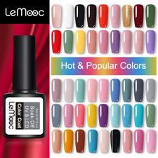 8ml LEMOOC Nagel Gellack Nail Gel UV Nagellack Soak off Nail Art UV Gel Polish