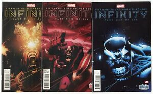 Infinity #1 - 6  Complete Set  avg. NM 9.4  Marvel  2013  No Reserve