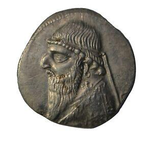 Parthia  Mithridates II Drachm 123-88 BC