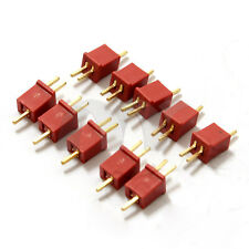 5 Pairs Mini T Plug Connectors Adapters for RC LiPo NiMh Battery