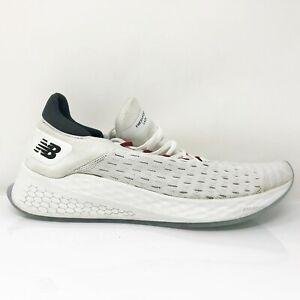 New Balance Mens Fresh Foam Lazr V2 MLZHKLW2 White Running Shoes Size 11.5 D