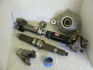 "97-06 Jeep TJ Wrangler Heavy Duty 231J SYE Kit & Driveshaft Combo 16.5"" 52231"