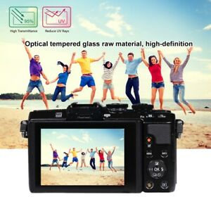 HD Optical Glass LCD Screen Protector Film For Olympus E-M10/EPL8/EP5 Camera FF