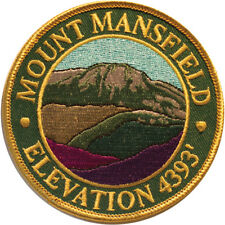 Mountain Patches Mount Mansfield Embroidered Hiking Patch