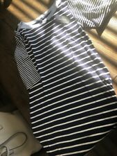 Tommy Hilfiger NEW Black Women's Size M Striped Dress $68.00