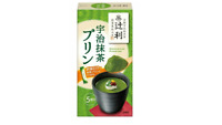 Matcha Green Tea Cystard Pudding Powder Mix  5Servings (15gx5pcs)