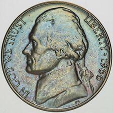 1966-P USA JEFFERSON NICKEL PROOF UNC GEM TONED CHOICE BU COLOR #20 (DR)