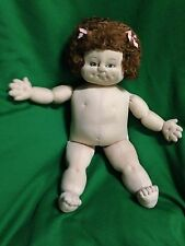 Beautiful Handmade Vintage Cabbage Patch Soft Sculpture Doll