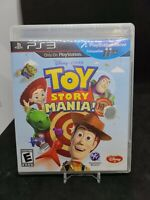 PS3 Toy Story Mania (Sony PlayStation 3, 2012) Complete CIB Manual