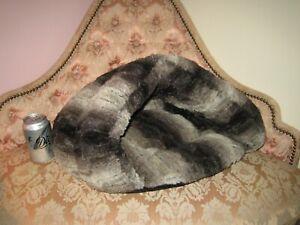 Pet Cat Dog House Puppy Cave Sleeping Bed Soft Winter Warm Nest Rubberish Bottom