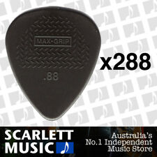 20 X Jim Dunlop Max Grip Nylon 0.88mm Gauge Grey Guitar Picks BULK