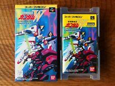 Mobile Suit Gundam Wing: Endless Duel (New condition!) / Super Famicom snes cib