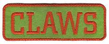 "1975-76 Baltimore Claws Aba Basketball Hardwood Classics 4.5"" Block Text Patch"