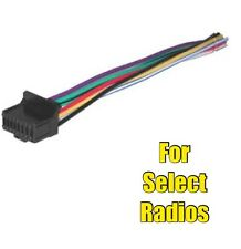 Car Stereo Radio Wire Harness for select Pioneer or Premier Aftermarket Radios
