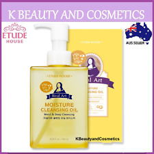 [Etude House] Real Art Cleansing Oil Moisture (Advanced) 185ml Make Up Remover