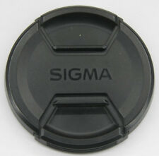 72mm  - Front Snap On Lens Cap -Sigma- Plastic- USED E59E