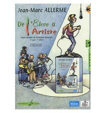 De l'élève à l'artiste - Volume 1 (+CD) - Allerme