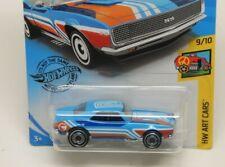 Hot Wheels  '67 Camaro Treasure Hunt HW Art Cars Series 9/10