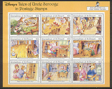 San Vicente Granadinas 1992 Disney/tres osos/Goldilocks/animación 9v Sht s1615