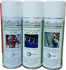 Tribocor Chain Lube +  Chain Cleaner Spray + Anti Rust (500ML*3) 4% Off