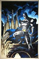 Batman DC Comics Oil Painting Real Hand-Painted Art Canvas NOT a Print Poster