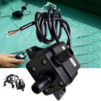 Mini DC12V 3m 240L/H Brushless Motor Submersible Water Pump Home Black US STOCK