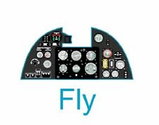 Yahu Models YMA3212 1/32 PE Hawker Hurricane Mk.I instrument panel Fly