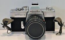 MINOLTA SRT  MCII  35mm SLR Camera Bundle  A++++