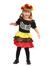 """Kostüm für Kinder """"Tag der Toten"""" Frida (3-4 Jahre) Halloween"""
