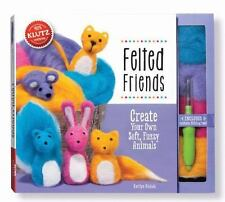 Felted Friends: Create Your Own Soft, Fuzzy Animals [With Felt, Felting Tool] (M