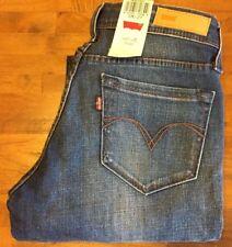 LEVI'S CURVE ID DEMI CURVE LOW SKINNY LEG Jeans - Junior's 5 Medium NWT