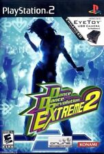 Dance Dance Revolution Extreme 2 (Sony PlayStation 2, 2005) With Manual!