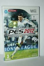 PES 2012 PRO EVOLUTION SOCCER 2012 GIOCO USATO NINTENDO Wii ED ITA PAL MG1 55305