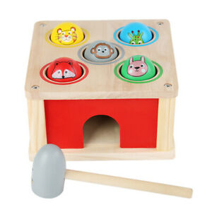 1 Set Educational Durable Training Toy Hammer Beat Toy for Indoor Party
