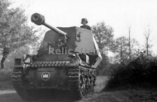 WW2 Picture Photo German Marder I Tank destroyer on the move France 1942 1433