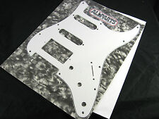 Allparts Fat Strat Pickguard White 3 ply HSS 11 Hole PG 0995-035