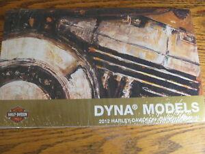 2012 Harley-Davidson Dyna Owner's Owners Manual Super Glide Switchback Fat Bob