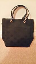 AUTHENTIC MULBERRY SMALL BLACK LOGO TOTE BAG