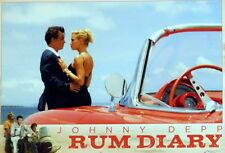Johnny Depp RUM DIARY lobby cards 4 original vintage stills 2011